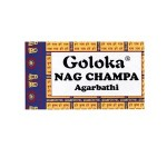 Goloka Nag Champa Incense Sticks - 15 Grams